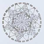 Scientific diagram of snowflake