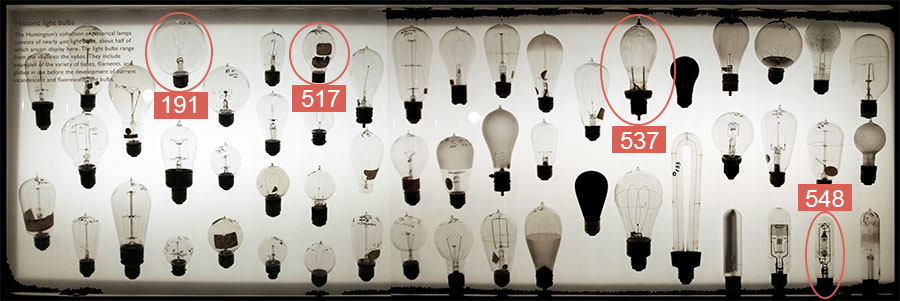 Lightbulbs: Case 1