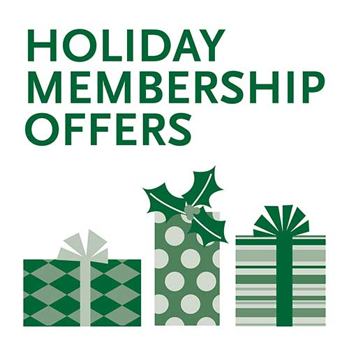 Holiday Membership Offers