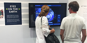 visitors in Mapel Orientation Gallery