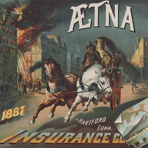 19th century advertisement for insurance