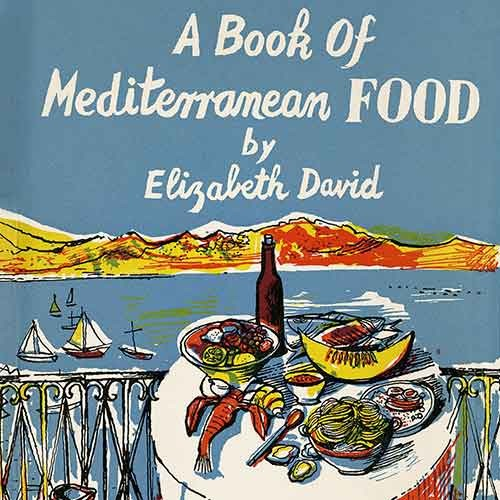 Cover of A Book of Mediterranean Food