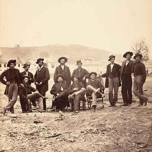 Civil war civilians and soldiers