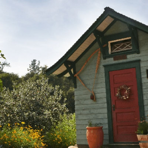 Ranch garden shed