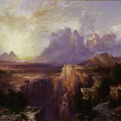 Painting of the American west