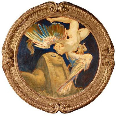John Singer Sargent, Sphinx and Chimera, 1916–1921