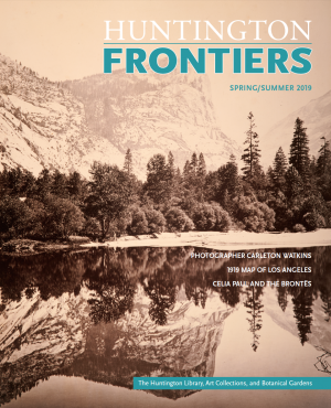 Cover of Frontiers Spring/Summer 2019