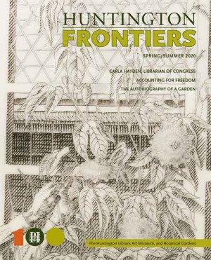 Cover of Frontiers Spring Summer 2020