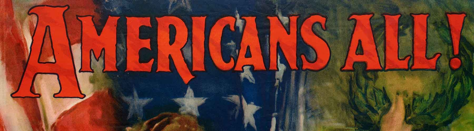 Patriotic poster from 1919