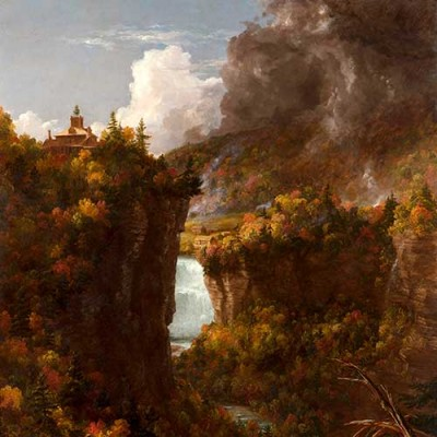 Thomas Cole, Portage Falls on the Genesee