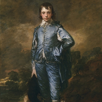 Blue Boy painting by Thomas Gainsborough