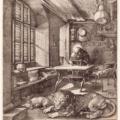 St. Jerome in His Study, by Albrecht Durer