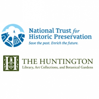 National Trust for Historic Preservation, and The Huntington logos