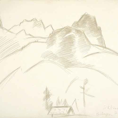 Drawing by Marsden Hartley