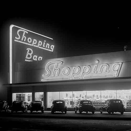 Photograph of Shopping Bag store