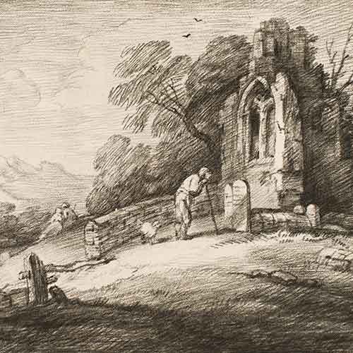 Etching by Thomas Gainsborough