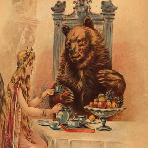 Illustration of Beauty and the Beast