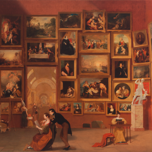 Gallery of Louvre