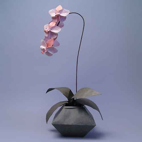 Origami orchid