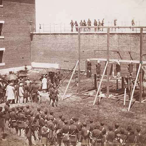 Hanging of the Lincoln Conspirators