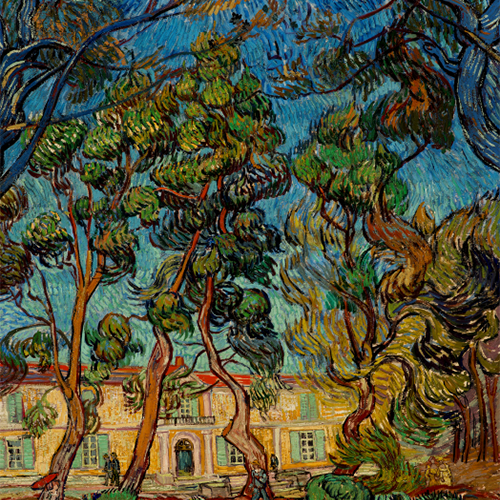 Hospital at Saint-Remy by Vincent Van Gogh