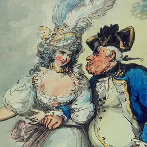 Watercolor by Thomas Rowlandson
