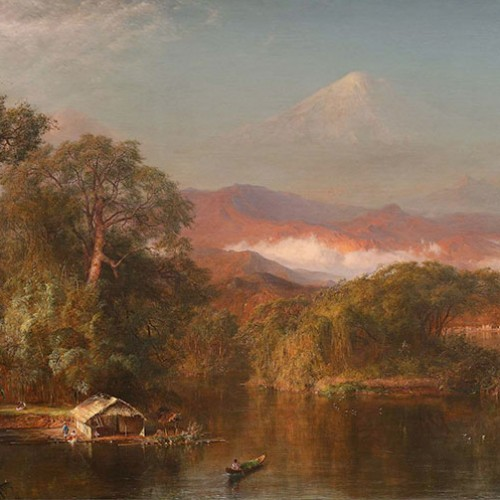 Chimborazo (1864) by Frederic E. Church