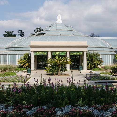 Exterior view of the Conservatory