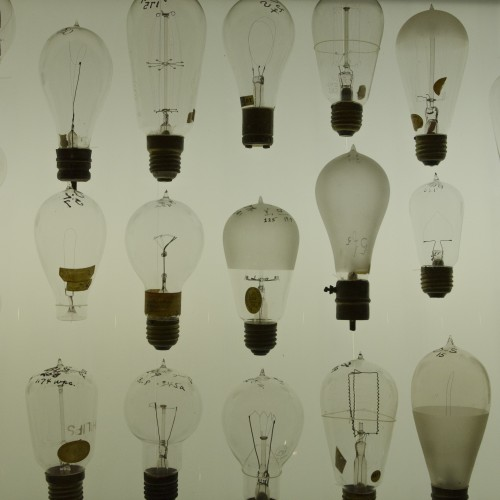 Early Light Bulbs
