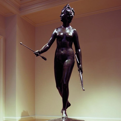 Diana the Huntress (1782) by Jean-Antoine Houdon