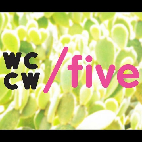 /five and WCCW logo