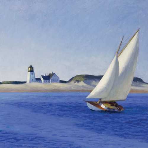 The Long Leg by Edward Hopper