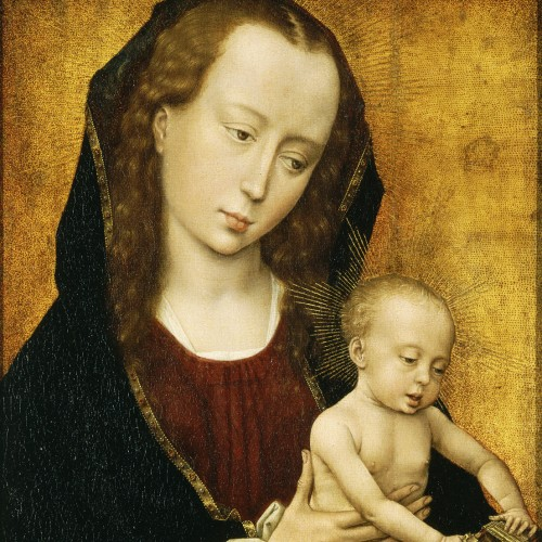 Virgin and Child (ca. 1460) by Rogier van der Weyden