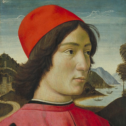Portrait of a Man, Domenico Ghirlandaio