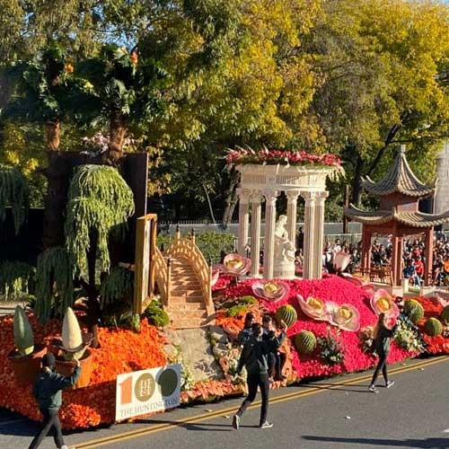 Huntingtons Rose Parade Float