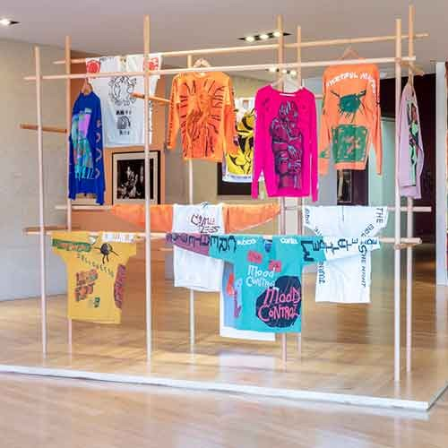Installation of Sonya Sombreuil / COME TEES's work