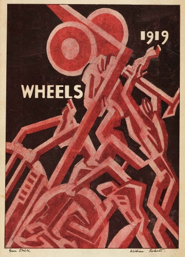 Edith Sitwell (1887–1964), editor; William Roberts (1895–1980), illustrator, Wheels, 1919, 1919. Oxford: B. H. Blackwell. The Huntington Library, Art Museum, and Botanical Gardens.