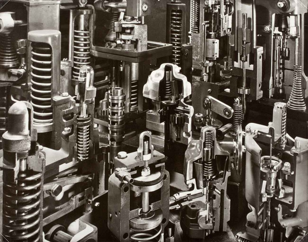Torkel Korling, Cut Away Abstraction, Rockford, 1944, gelatin silver print, 10 15/16 × 13 7/8. Los Angeles County Museum of Art. The Marjorie and Leonard Vernon Collection, gift of The Annenberg Foundation, acquired from Carol Vernon and Robert Turbin. Photo © 2015 Museum Associates/LACMA.