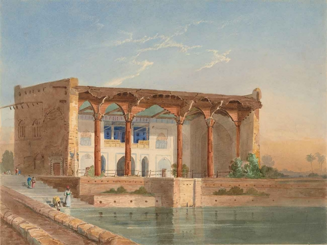 William Edwards (British, active mid-19th century), View at Scinde, ca. 1843-46, watercolor.