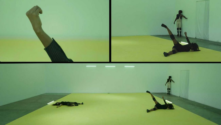 Ligia Lewis, Still from 'deader than dead', 2020. Mixed-media performance documented on HD video, color, sound. 19:39 min. Courtesy of the artist.