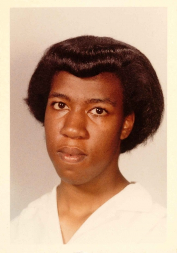 School photograph of Octavia E. Butler, ca. 1962. The Huntington Library, Art Collections, and Botanical Gardens. © Estate of Octavia E. Butler.