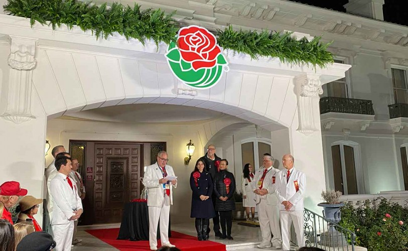 Photo of Tournament of Roses officials