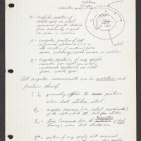 Page from a draft algorithm for calculating roulette patterns that allowed Albert Hibbs and friend to make a fortune in Las Vegas