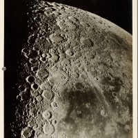 Francis Gladheim Pease (1881–1938), South Central Portion of the Moon at Last Quarter, Made with the 100-Inch Reflector, September 15, 1919. Gelatin silver print. The Huntington Library, Art Collections, and Botanical Gardens.