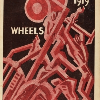 Edith Sitwell (1887–1964), editor; William Roberts (1895–1980), illustrator, Wheels, 1919, 1919. Oxford: B. H. Blackwell. The Huntington Library, Art Collections, and Botanical Gardens.