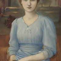 Portrait of Margaret Mackail, the Artist's Daughter