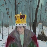Enrique Martínez Celaya, The Crown, 2015. Oil and wax on canvas, 100 x 78 in. Martinez Celaya Family Collection. Photo: Jeff McLane.