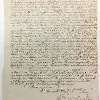Letter from the Shapiro Collection by George Washington to John Langdon, from April 2, 1788, discussing the ratification of the U.S. Constitution.