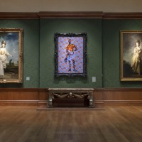 gallery image with three Grand manner portraits