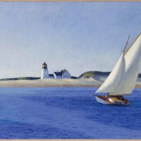 Edward Hopper (1882-1967), The Long Leg, 1935. The Huntington Library, Art Museum, and Botanical Gardens. Gift of the Virginia Steele Scott Foundation.